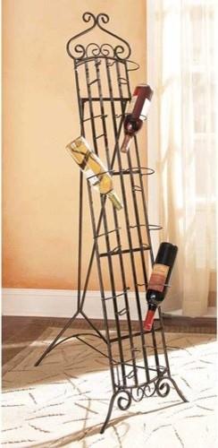 Garden Gate 12-Bottle Wine Rack contemporary-wine-racks