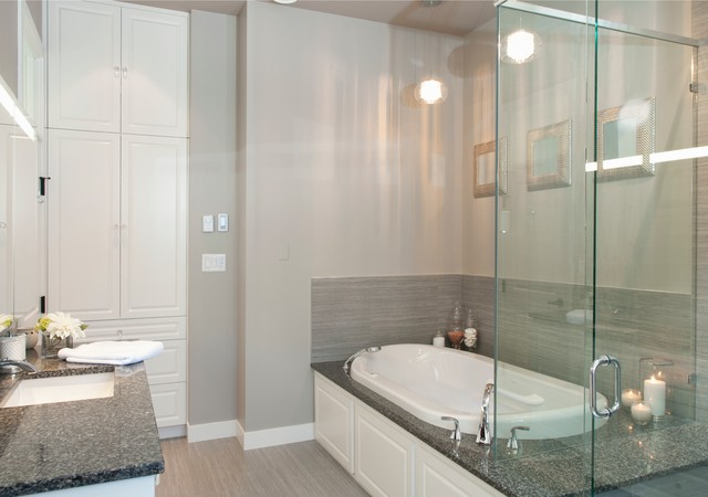 Lake House - Contemporary - Bathroom - other metro - by MAC Renovations LTD.
