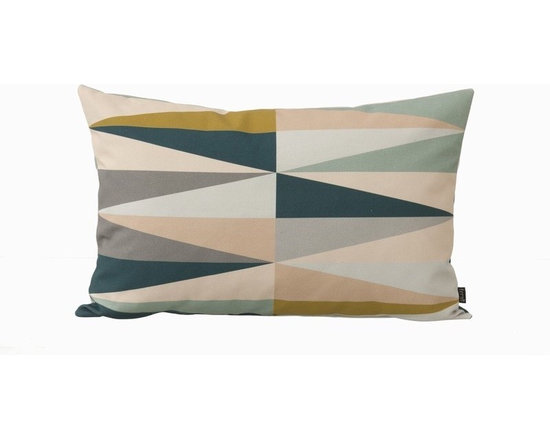 Ferm LIving Organic Spear Cushion - Small - Ferm Living Spear Pillow - Small