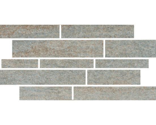 Quartzite Collection Lime Design 4 Mosaic -