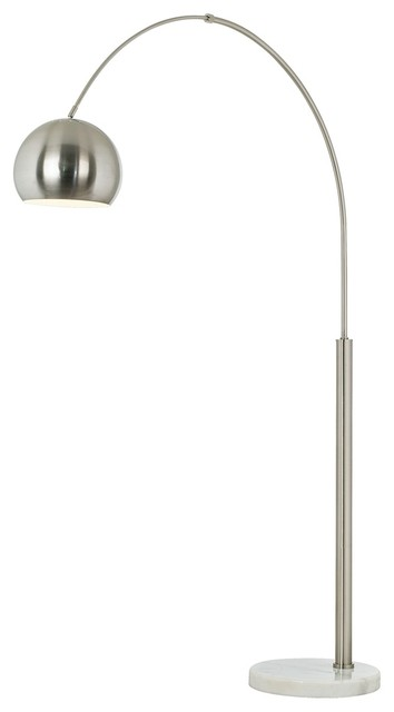 Arc Floor Lamps Brushed Nickel Decoration News