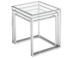 Bloc Nesting Tables modern-side-tables-and-end-tables