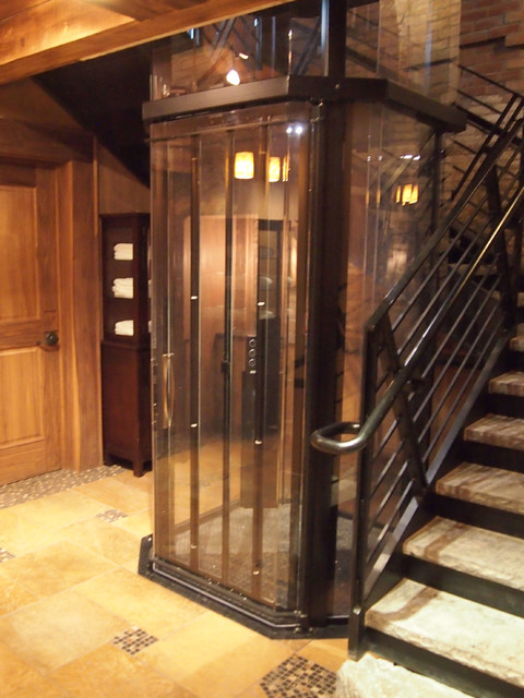 Custom home elevators new york by visilift elevators Homes with elevators for sale