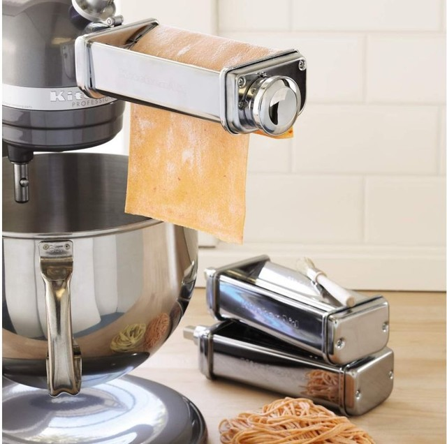 KitchenAid Pasta Roller and Cutter Set  blenders and food processors