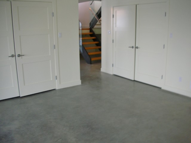 basement concrete floors naturally look amazing with eco friendly