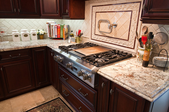 Kitchen - Eclectic - Cooktops - los angeles - by Kitchens Etc. of Ventura County