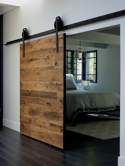 Exeter Barn Door Traditional Bedroom Phoenix By