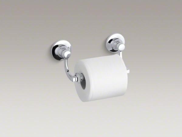 KOHLER Bancroft(R) toilet tissue holder contemporary-toilet-paper-holders