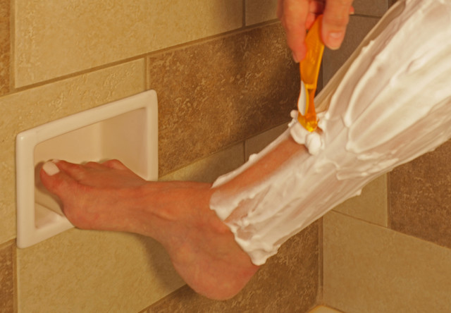 Recessed Bathroom Tile Niches contemporary-showerheads-and-body-sprays