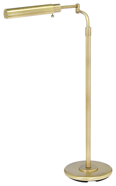 House of Troy PH100-71-F Antique Brass Swing Arm Floor Lamp contemporary-floor-lamps