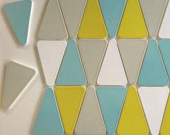 Modwalls Kiln Ceramics Wedge midcentury-tile