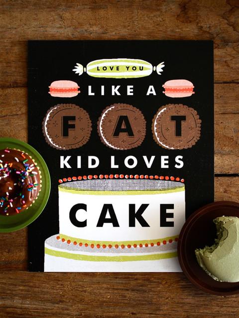 Love You Like A Fat Kid Loves Cake Lyrics