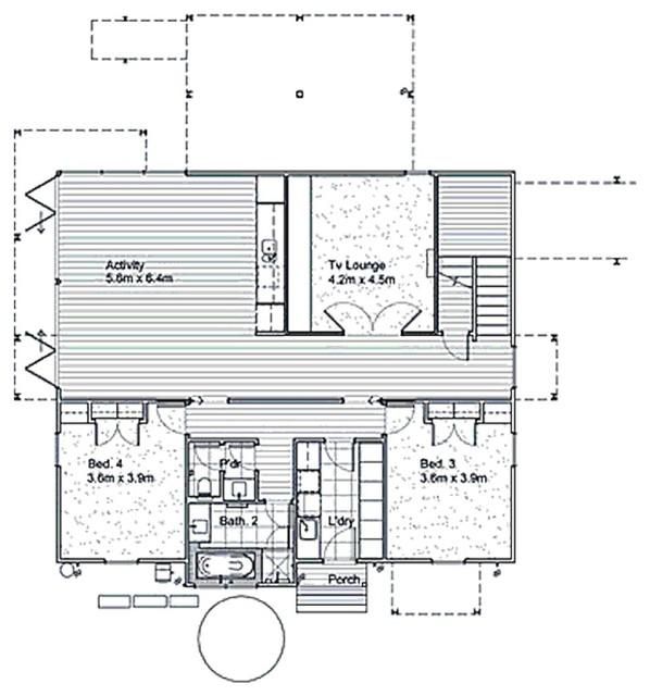 Plan 496 14 By Leon Meyer Modern Floor Plan San