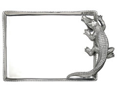 Alligator Rectangular Tray contemporary serveware