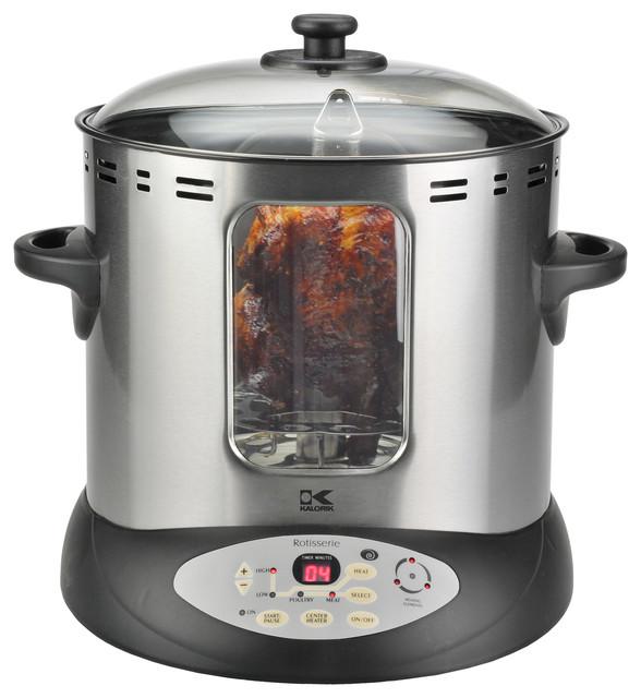 Electric Kitchen Appliances : Home Rotisserie - Contemporary - Small Kitchen Appliances - by Kalorik
