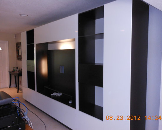 Lucus Wall Unit - Free Standing Wall Unit - At over 12' wide, the Lucus wall unit is most at home in a large room.