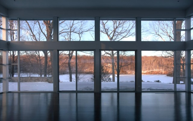 Pound Ridge NY - Guest House modern-living-room