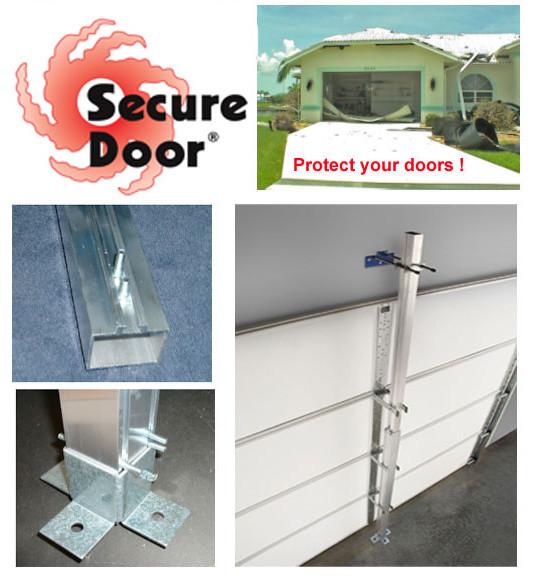 Secure Door Residential 7-Foot Garage Door Hurricane Brace - Home ...