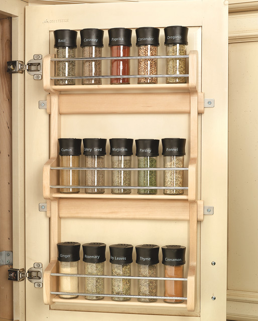 Wood Classics Maple Spice Rack cabinet-and-drawer-organizers