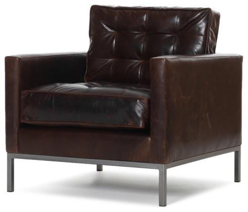 Sullivan Leather Chair modern-armchairs