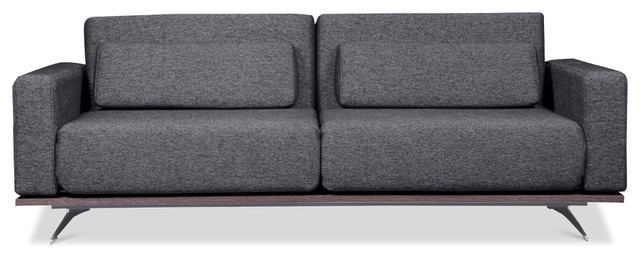 Copperfield Grey-Black Sleeper Sofa modern-sofas