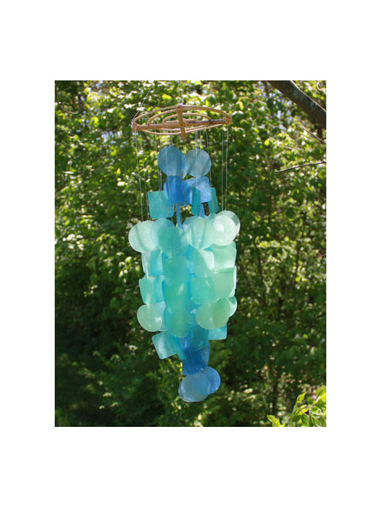 Handcrafted Capiz Shell Wind Chimes -