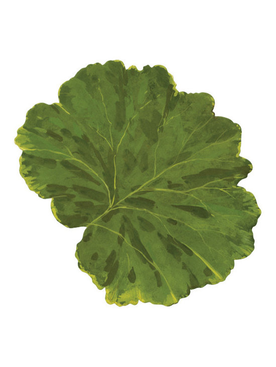 Leaf Die-Cut Placemats, Set of 4 -