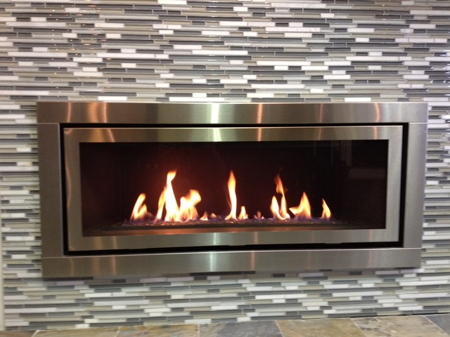 Contemporary Gas Fireplace contemporary fireplaces