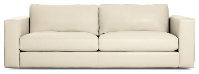 "Reid 86"" Sofa in Leather modern-sofas"