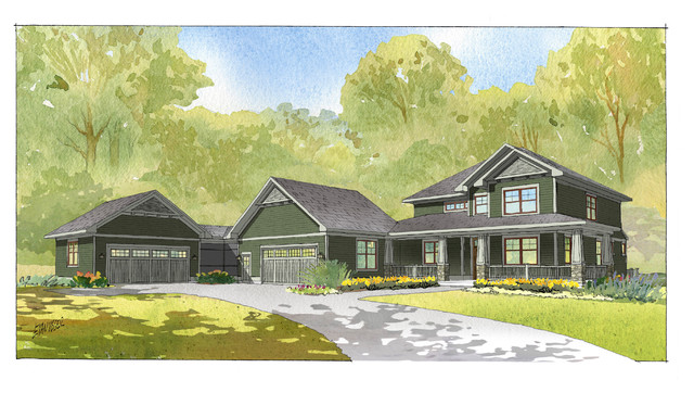 2008 Parade of Homes traditional-rendering