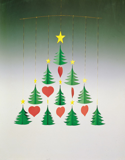 Flensted Mobiles - Christmas Tree 10 modern holiday decorations