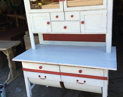 Vintage Painted cupboard hutch display in Lombard, Illinois ~ Krrb Classifieds