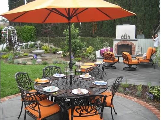 Nothing into something backyard! traditional-patio
