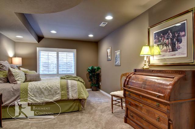 Basement Bedroom traditional-bedroom