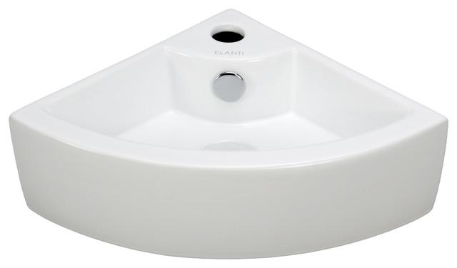 Modern Corner Sink : ... Corner Sink - Contemporary - Bathroom Sinks - by Elite Sinks Ltd