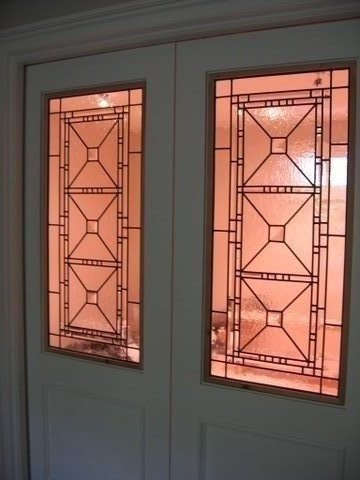 Leaded Glass and Stained Glass Inserts. - Traditional - toronto - by Glassworks Studio, Toronto ...