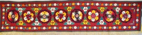 Vintage Suzani Textiles eclectic-throws