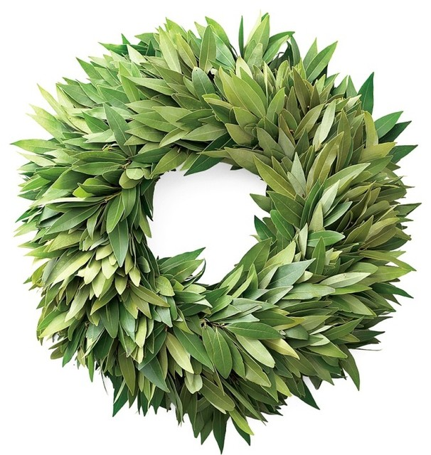 Bay Leaf Wreath Traditional Wreaths And Garlands By