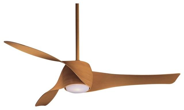 "Contemporary 58"" Artemis Maple Finish Ceiling Fan contemporary-ceiling-fans"