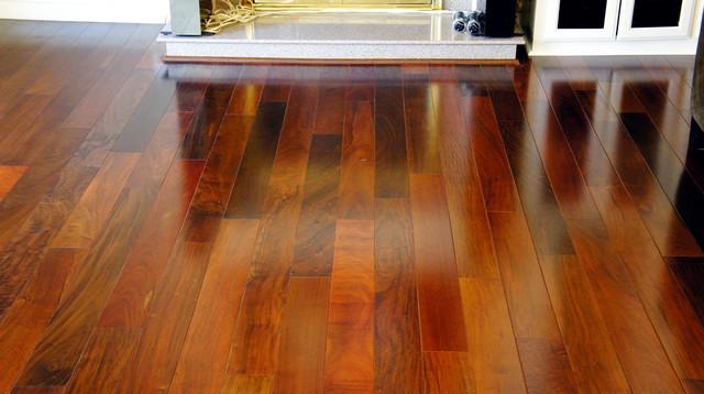 Terre Verte Brazilian Ipe Modern Hardwood Flooring