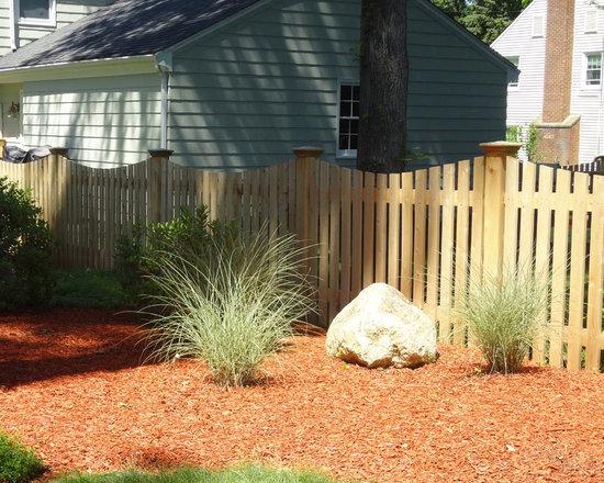 Madison Cedar Picket Fence -