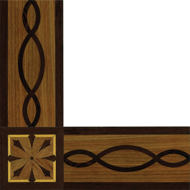 Wood Border Windsor inlay border and