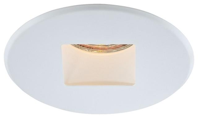 Eurofase White Round Regress Trim modern-recessed-trims