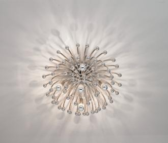 Robert Abbey Anemone 23 1 2 Wide Ceiling Wall Light