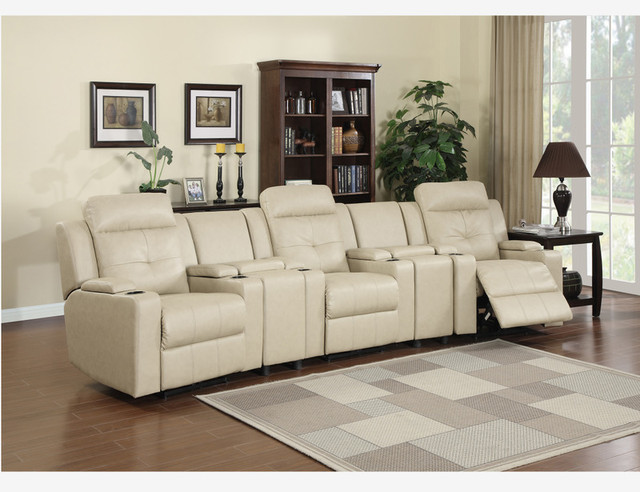 Leather Power Reclining Chairs Recliners Console Charging Station Usb Charging Stations By