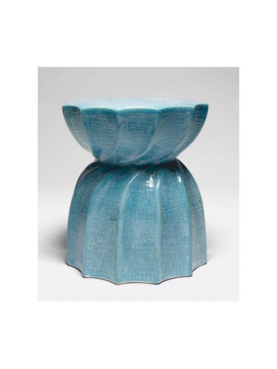Bea Stool - Soft Blue - Made Goods | Clayton Gray Home -