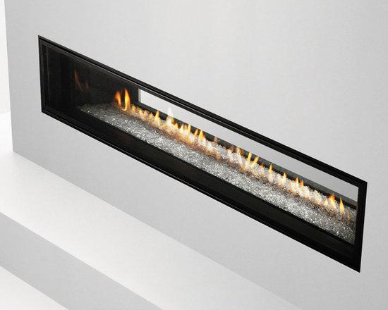 Mezzo See Through Gas Fireplace -