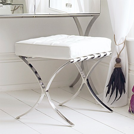 Sovana dressing table stool contemporary dressing table stools - Modern bathroom dressing table ...
