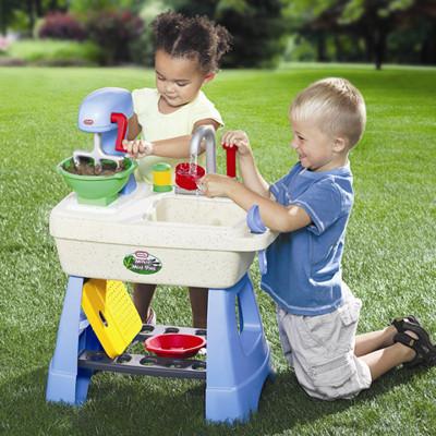 Little Tikes Makin' Mud Pies Outdoor Kitchen Set modern-kids-toys