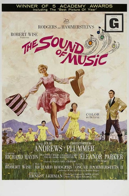 The Sound of Music 11 x 17 Movie Poster - Style B prints-and-posters